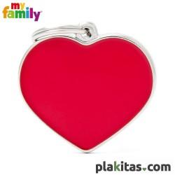 Corazón Rojo L