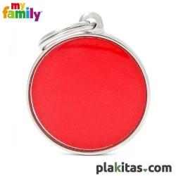 Círculo Rojo Reflectante L