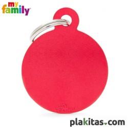 Círculo Rojo L Aluminio