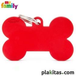 Hueso Rojo XL Aluminio