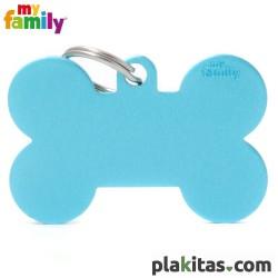 Hueso Azul Celeste XL Aluminio