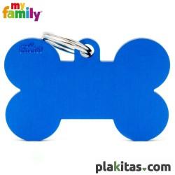 Hueso Azul Marino XL Aluminio