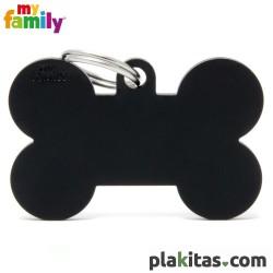 Hueso Negro XL Aluminio