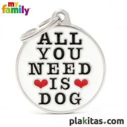 "Círculo ""All You Need Is Dog"""